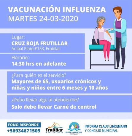 Vacunación 24 de marzo 2020