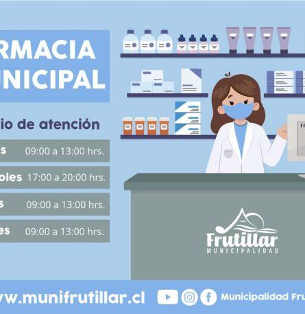 Horario Farmacia municipal