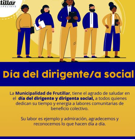 Día del Dirigente/a Social