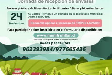 Jornada de Recepción de envases CAMPO LIMPIO